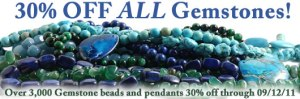 30% Off Gemstone Sale