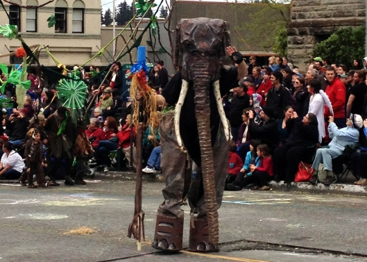 Elephant on Stilts