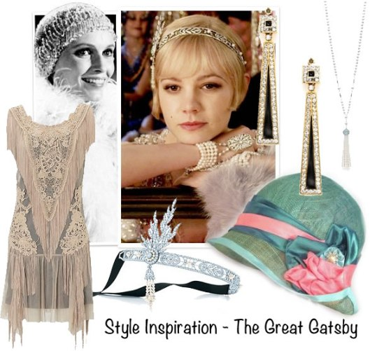 Gatsby Style Collage